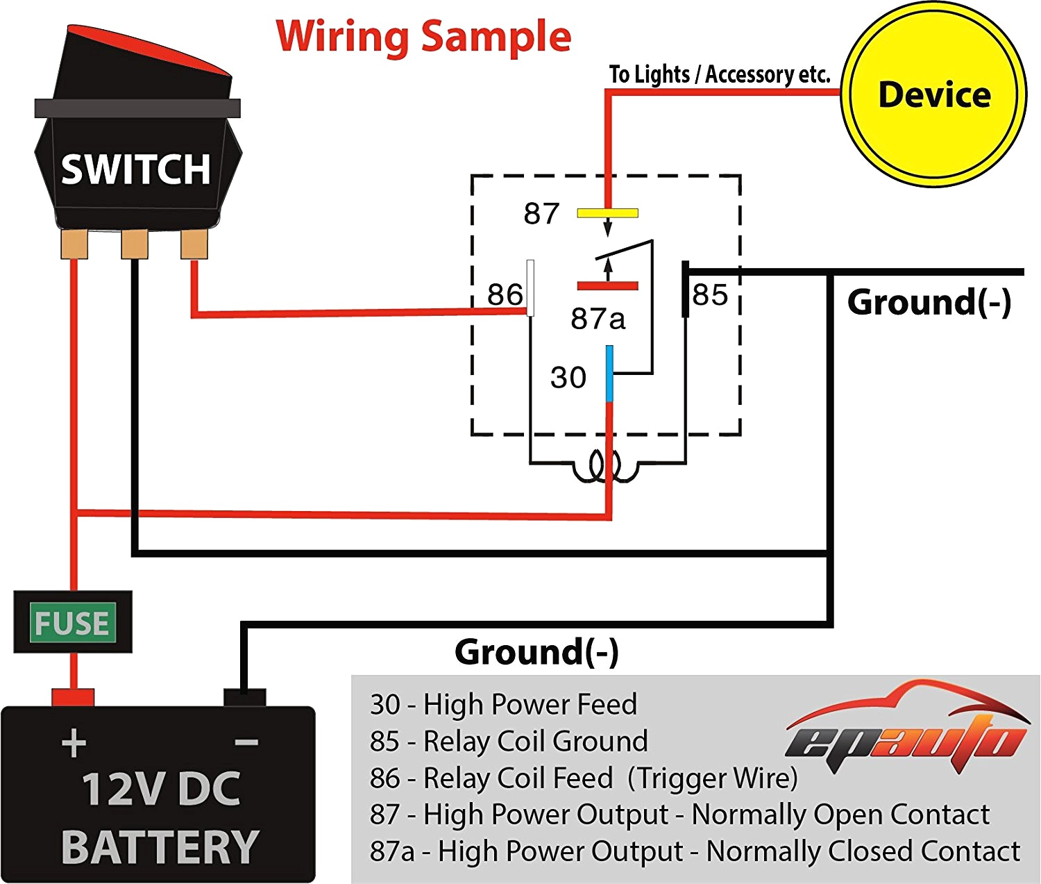 Find Out Here 120 Volt Relay Wiring Diagram Download