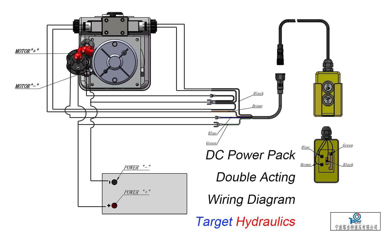12v Hydraulic Power Pack Wiring Diagram Download