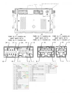 1998 ford Expedition Mach Audio Wiring Diagram - ford Audio Wiring Diagram at 2001 Mustang Radio 4e