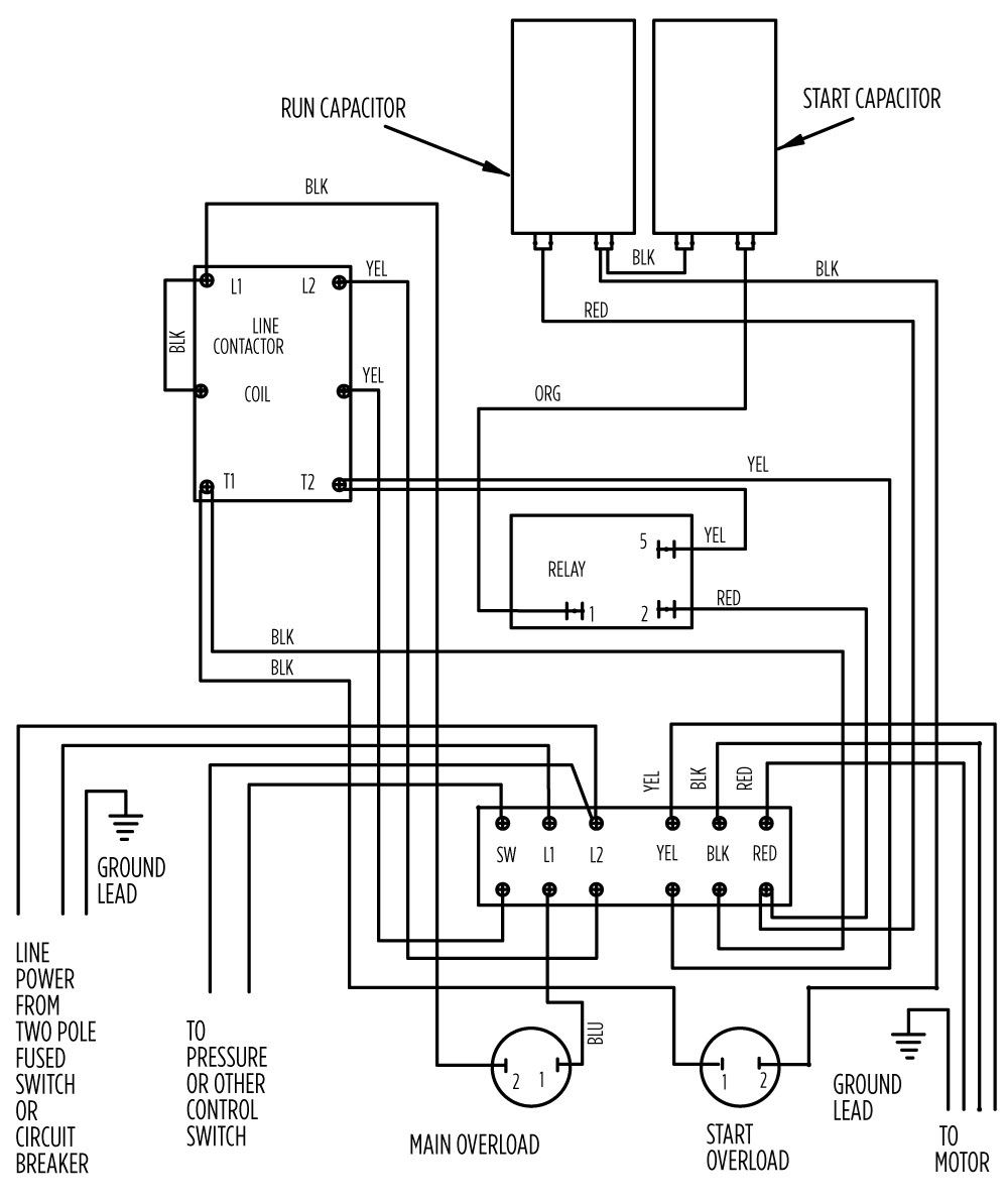 2 wire submersible well pump wiring diagram Collection-2 Wire Submersible Well Pump Wiring Diagram Best 3 Wire Submersible Pump Wiring Diagram Wellread 7-s
