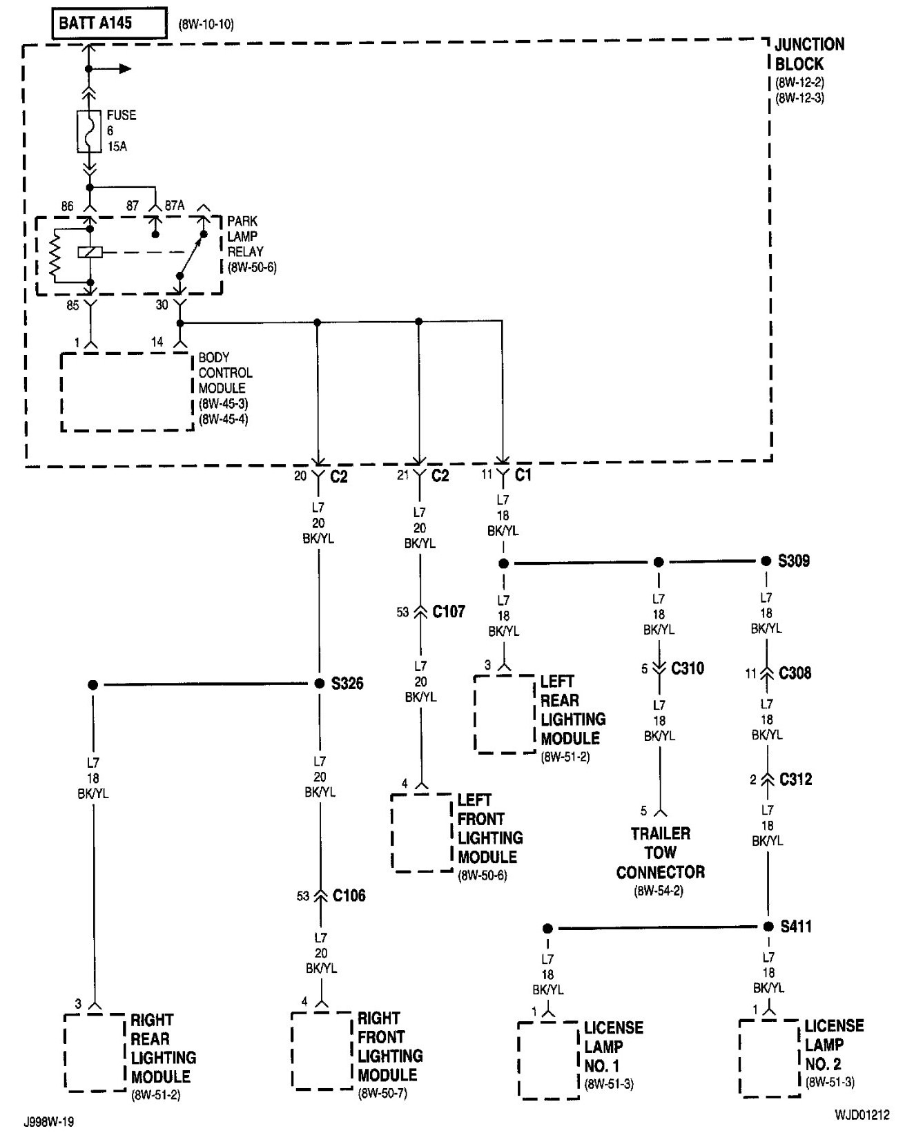 2000 jeep grand cherokee trailer wiring diagram