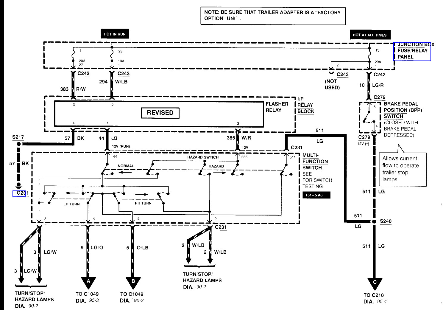 Ford F250 Trailer Plug Wiring Diagram Simple Schema Electrics Get 2001 Sample Cd Player