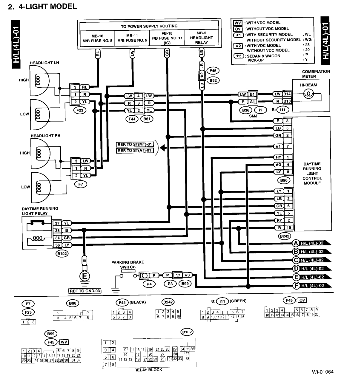 2001 subaru outback wiring diagram Collection-2000 subaru outback radio wiring diagram on 2000 subaru legacy turn rh daniablub co 2010 Subaru 19-i