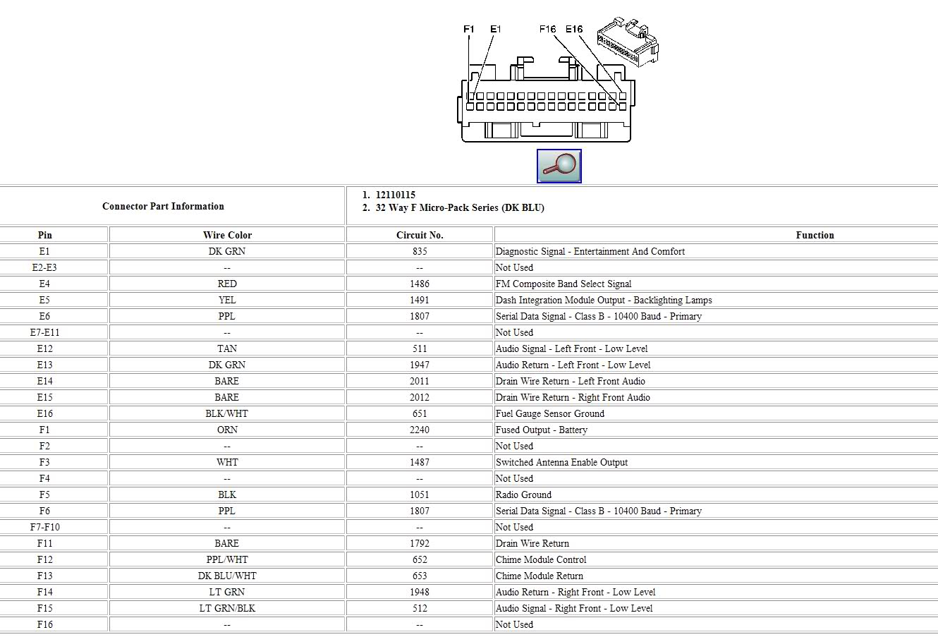 Autosportswiring  Cadillac Stereo Wiring Diagram