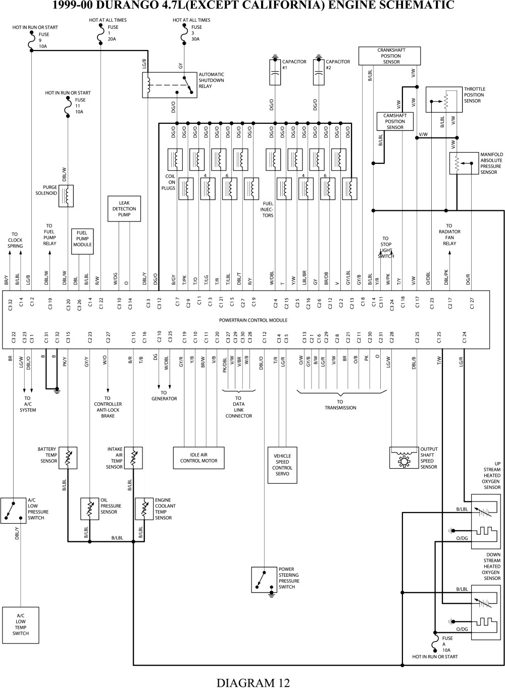 2002 dodge dakota pcm wiring diagram Collection-2001 Dodge Ram 1500 Pcm Wiring Diagram 15-f