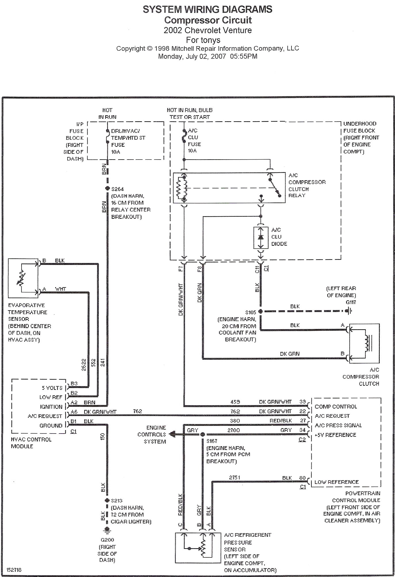 2003 chevy venture wiring diagram Download-2004 Chevy Venture Wiring Diagram 1-a