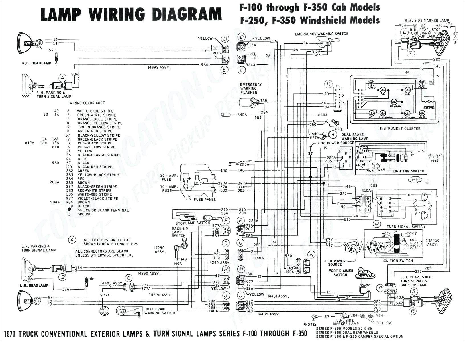 2000 Ford Ranger Headlight Wiring Diagram  2000 Ford