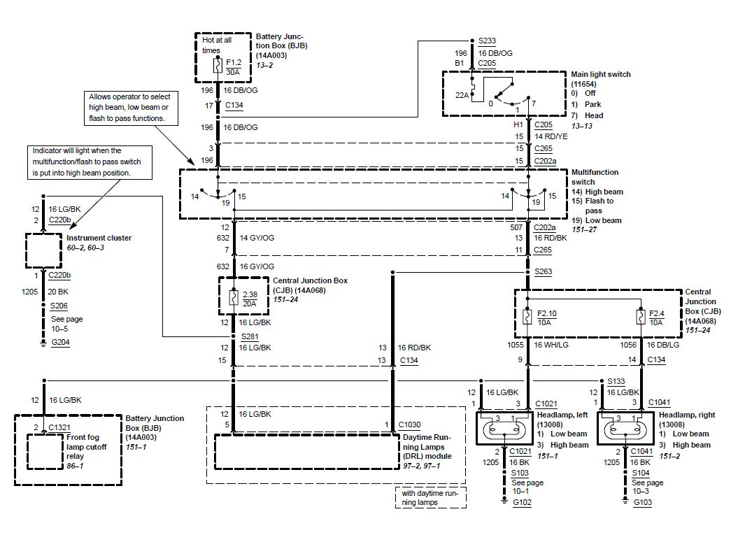2005 mustang headlight wiring diagram - 1999 ford mustang wiring diagram  unique 2000 gt 4 6