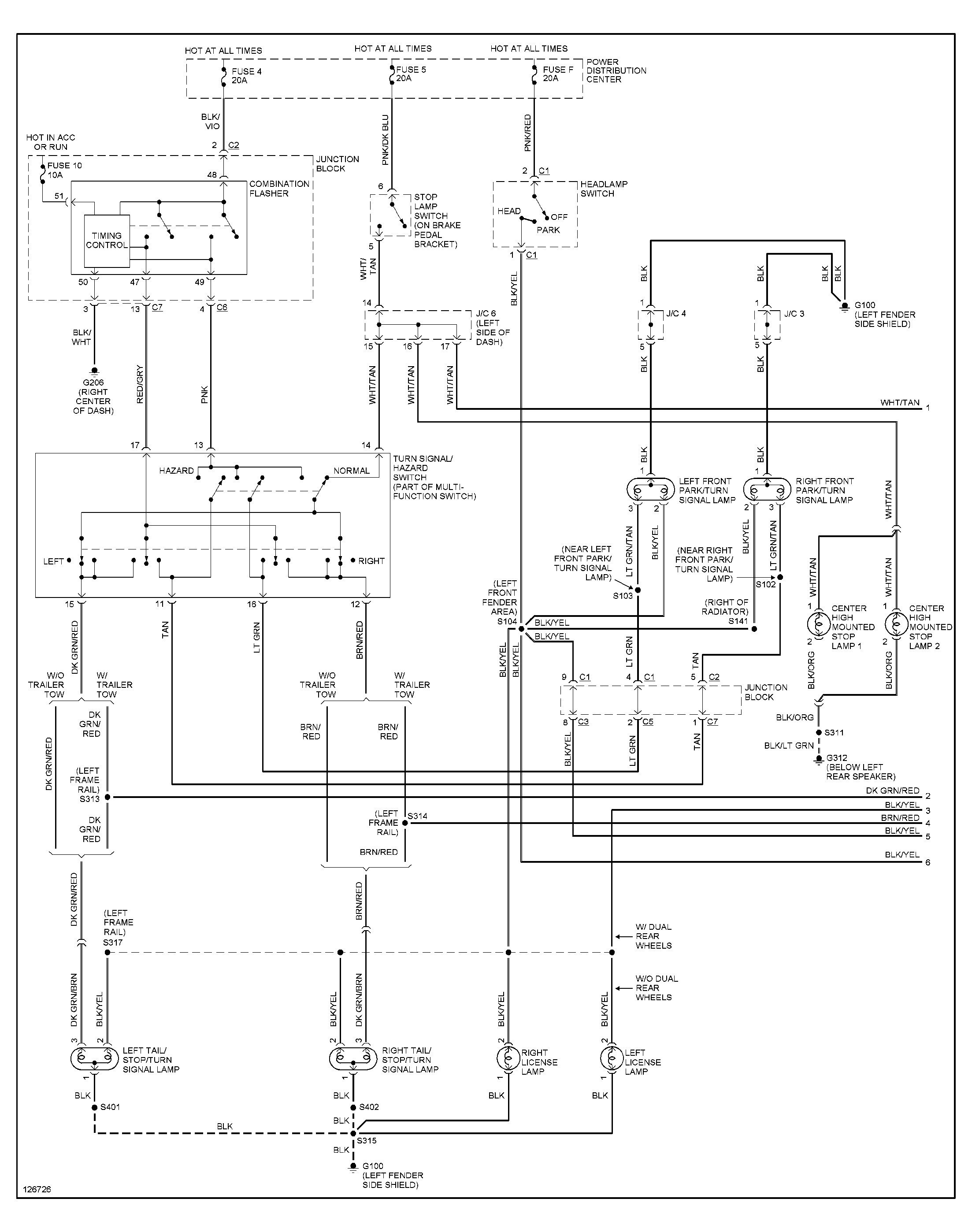 Get 2016 Dodge Ram Trailer Wiring Diagram Download