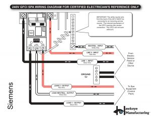 220v Hot Tub Wiring Diagram - Wiring 110v From 220v Breaker Diagram today Review Entrancing 20s
