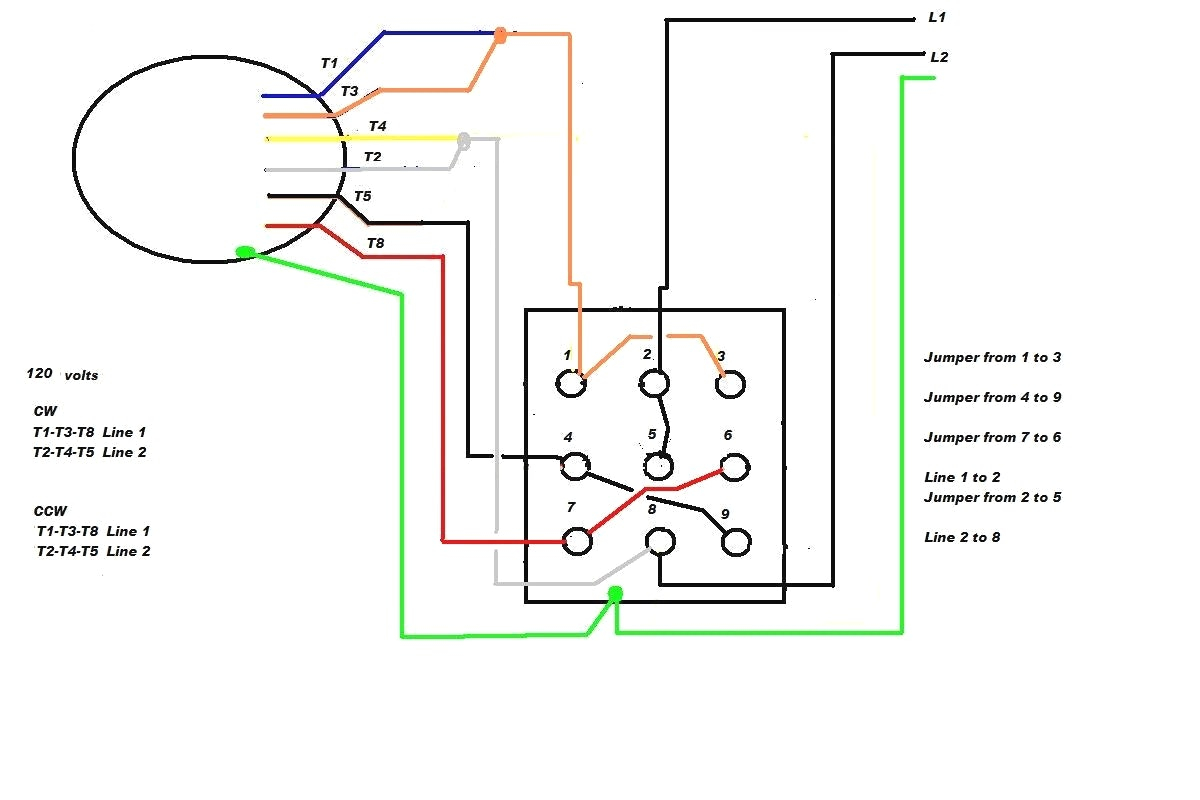 240v motor wiring diagram single phase Collection-Single Phase Motor Wiring Diagram With Capacitor Start Webtor Me New Run Weg Motors In 10-m