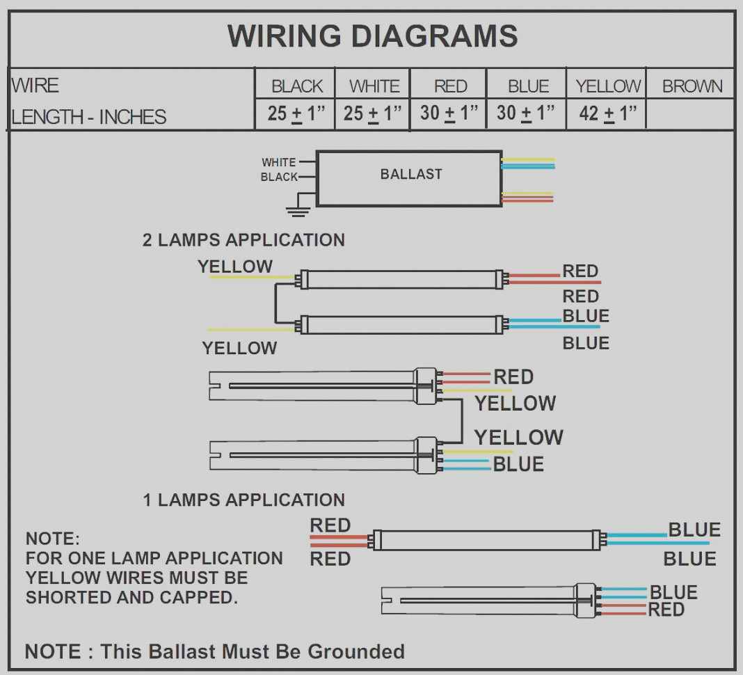 Gallery Of 277v Ballast Wiring Diagram Sample