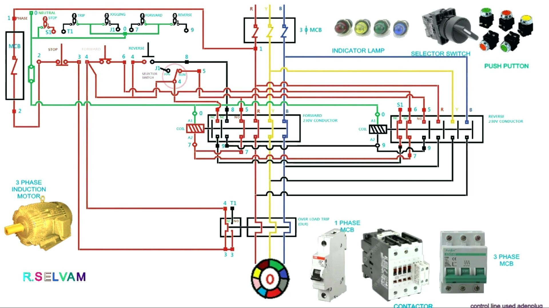 3 phase contactor wiring diagram start stop Download-3 phase contactor wiring diagram start stop Download Circuit Diagram Contactor Best 3 Phase Motor 8-r
