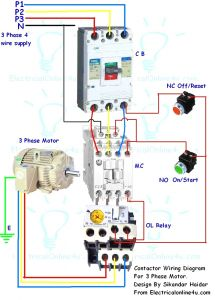 3 Phase Contactor Wiring Diagram Start Stop - 3 Phase Contactor Wiring Diagram Start Stop Download Colorful Stop Start Wiring Diagram Sketch Electrical 17p