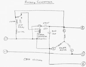 3 Phase Rotary Converter Wiring Diagram - Elegant Single Phase Motor Wiring Diagram with Capacitor Unique Single Phase Single Phase to 3 Phase 16q