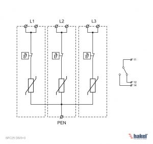 3 Phase Surge Protector Wiring Diagram - Internal Wiring Diagram 1s