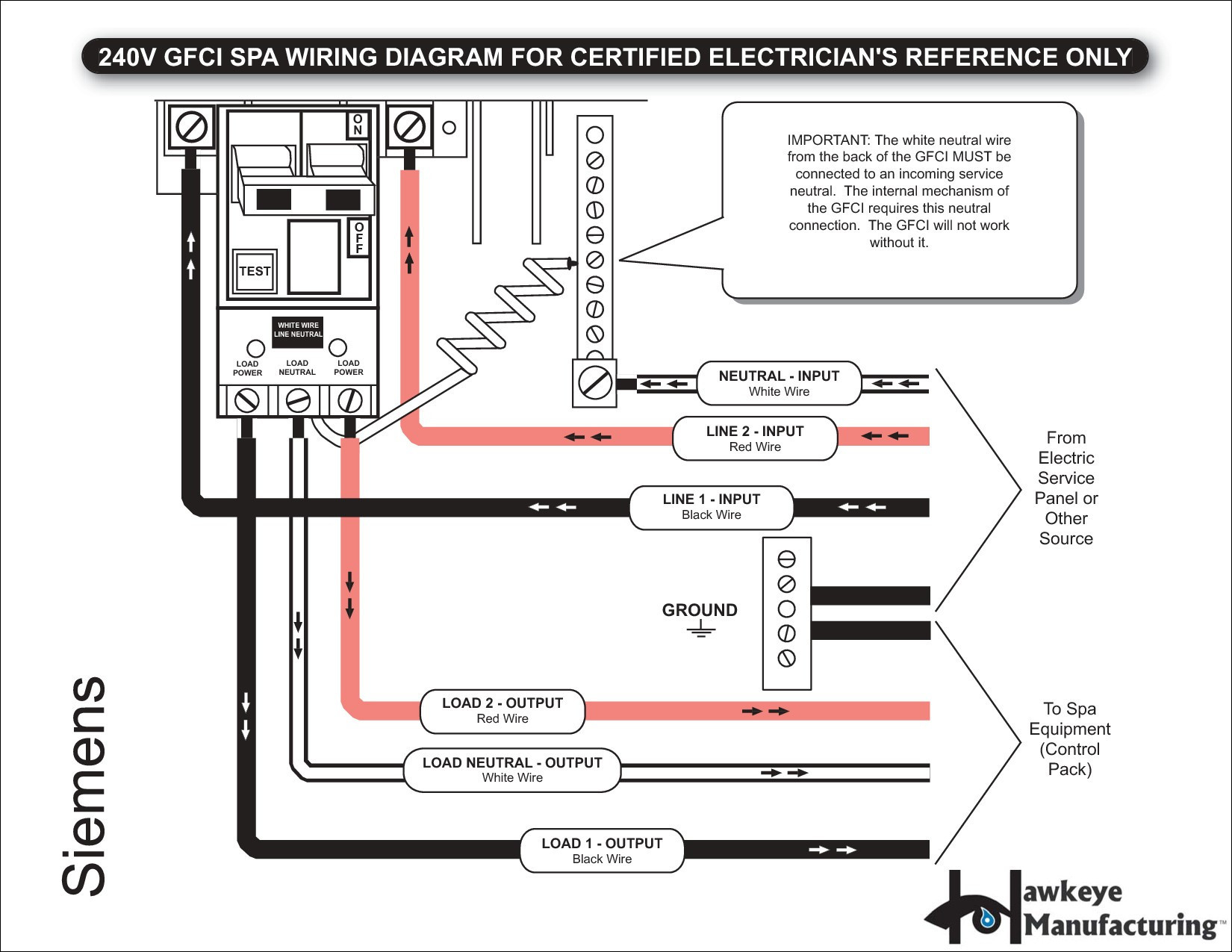 Circuit Breakers Gfci Wiring Diagram Square D Gfci Circuit Breakers