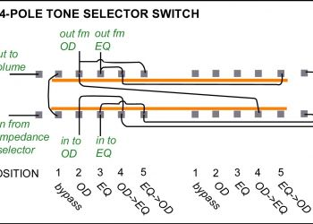 3 Position Selector Switch Wiring Diagram - 3 Position Selector Switch Wiring Diagram Unique Les Paul Personal 3 16g