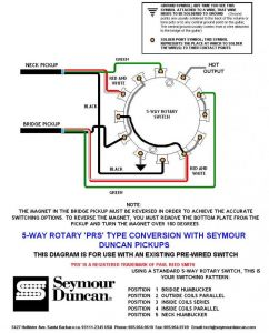 4 Position Rotary Switch Wiring Diagram - Premium 5 Way Rotary Switch Wiring Diagram Prs Tearing 12a