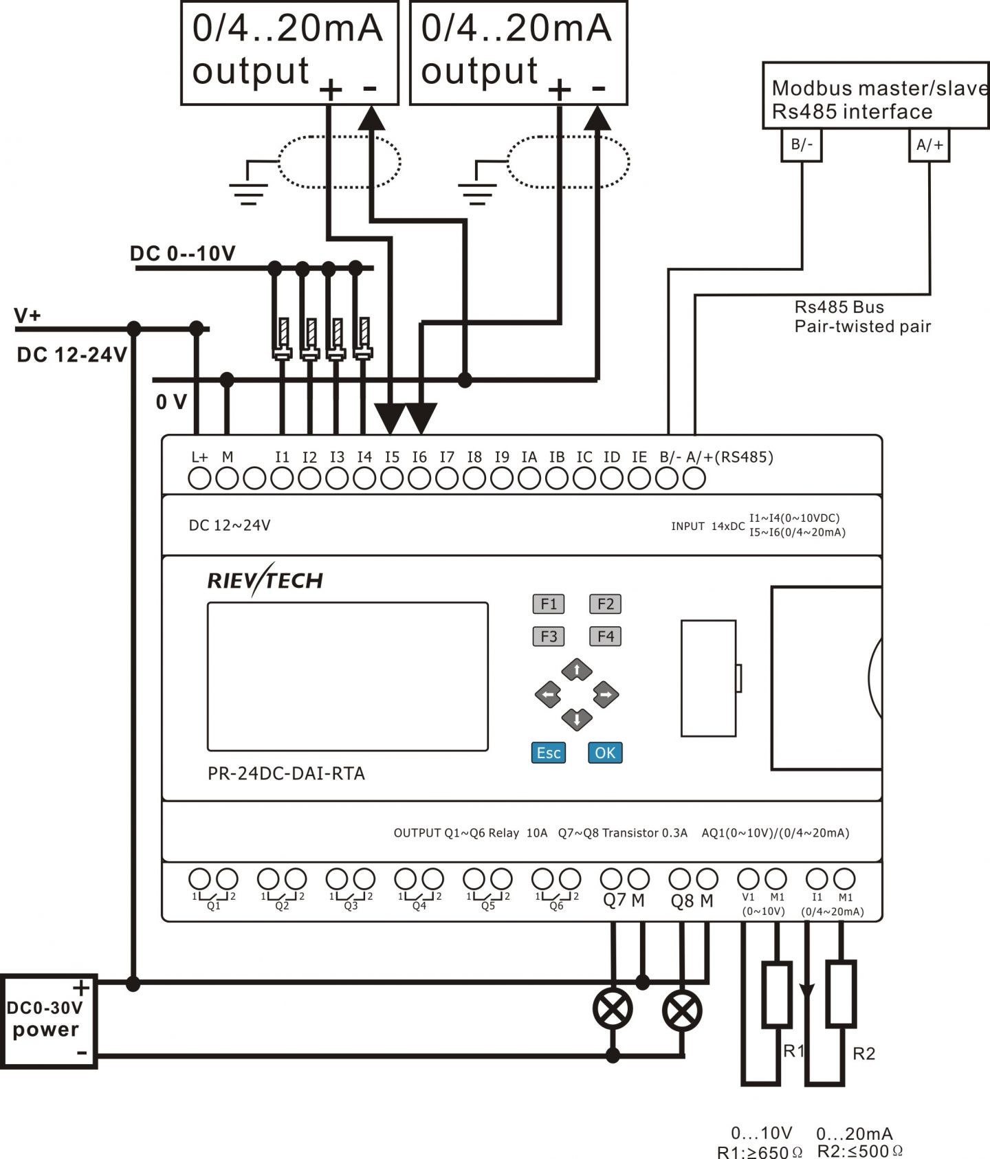 Gallery Of 4 Wire Rtd Wiring Diagram Sample