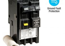 50 Amp Square D Gfci Breaker Wiring Diagram - Homeline 20 Amp 2 Pole Gfci Circuit Breaker 18h