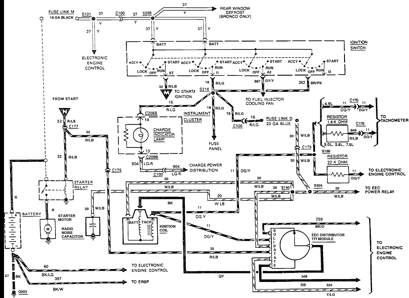 1989 Ford Alternator Wiring Diagram - Wiring Diagram  Ford Alternator Wiring Diagram on