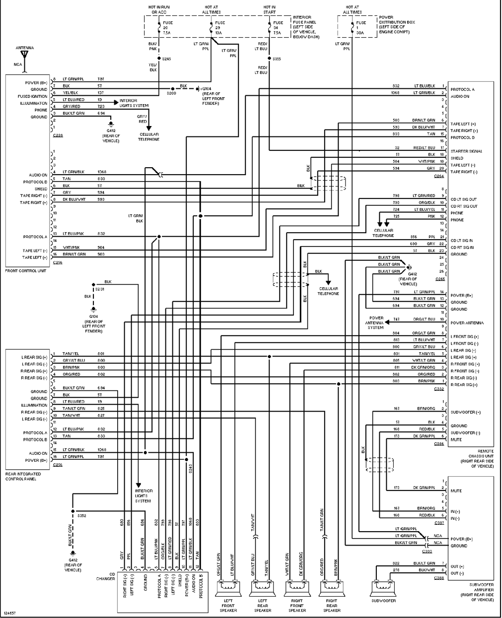 97 ford explorer wiring diagram Collection-1995 Ford Explorer Stereo Wiring Diagram To Ranger 4 Inside 1994 And Throughout 15-h