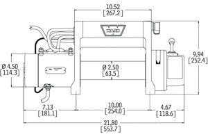Ac Winch Wiring Diagram - Electric Winch Wiring Diagram and Front Bumper New Warn M8000 In 5o