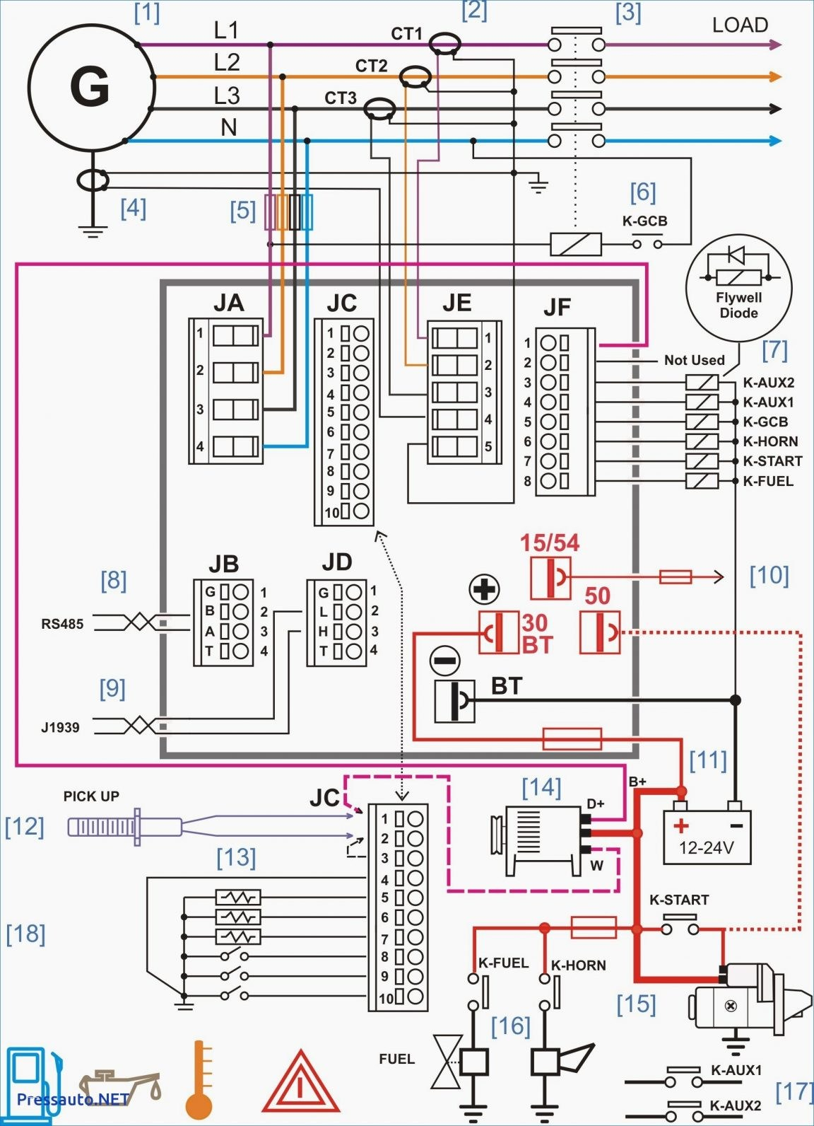 asco transfer switch wiring diagram Collection-Generator Wiring Diagram and Electrical Schematics Download Manual Generator Transfer Switch Wiring Diagram Amp Automatic 7-d