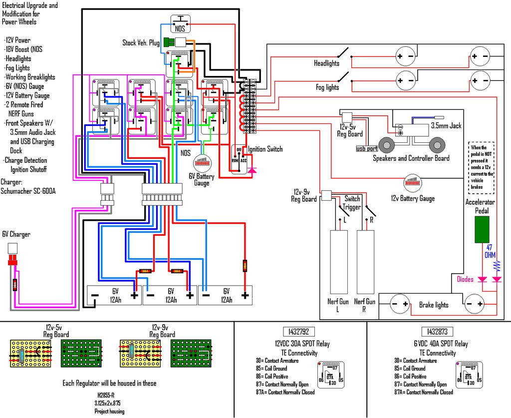 Wiring Schematic For Alternating Relay Wiring Diagram Collections