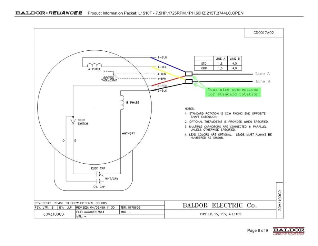 Get Baldor L1410t Wiring    Diagram    Download