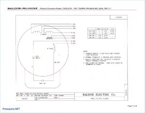 Baldor Reliance Industrial Motor Wiring Diagram - Wiring Diagram for Electric Motor with Capacitor Best Awesome Baldor 7o