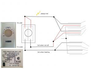 Baseboard Heater thermostat Wiring Diagram - 2 Pole thermostat Wiring Diagram Wire Center U2022 Rh Cannawiz Co Line Voltage thermostats 2 Pole Line Voltage thermostats 2 Pole 18e