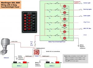 Boat Wiring Diagram software - Boat Wiring Diagram software Collection Boat Wiring Diagram 6 B 16n