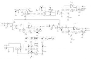 Bose Pcb assy 100w Wiring Diagram - Circuit Power Audio Amplifier with Tda2030 2 1 Channel– 3 X 18 Watts – Subwoofer – 14o