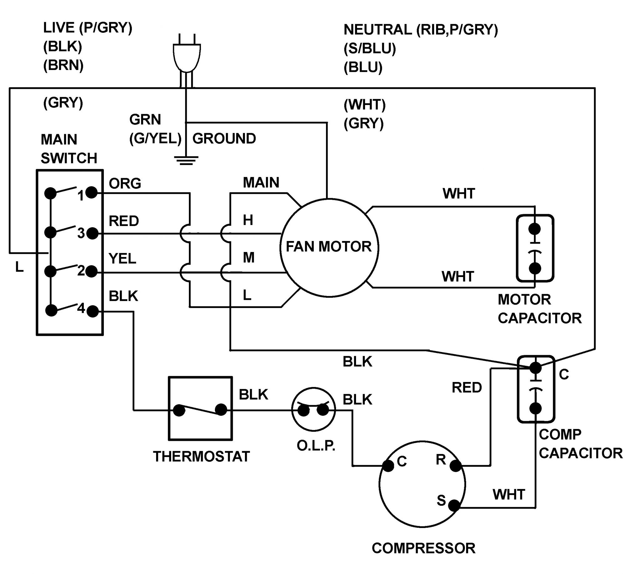 DIAGRAM Hitachi Ac Wiring Diagram FULL Version HD ...