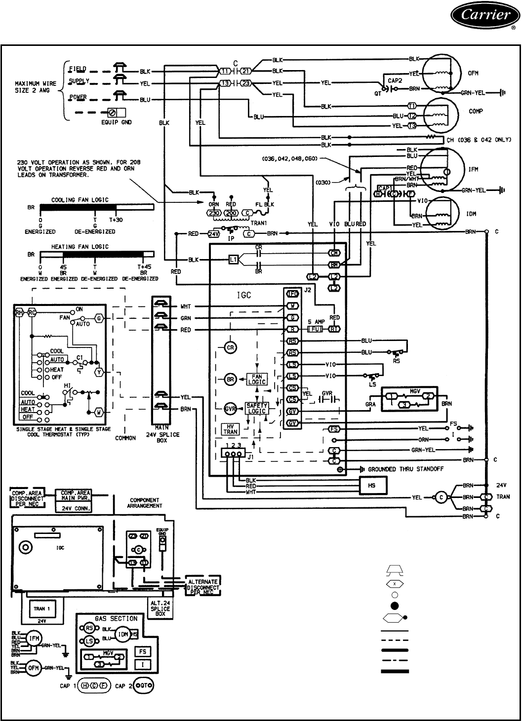 carrier furnace wiring diagram Download-Carrier Furnace Wiring Diagram Download 13-a