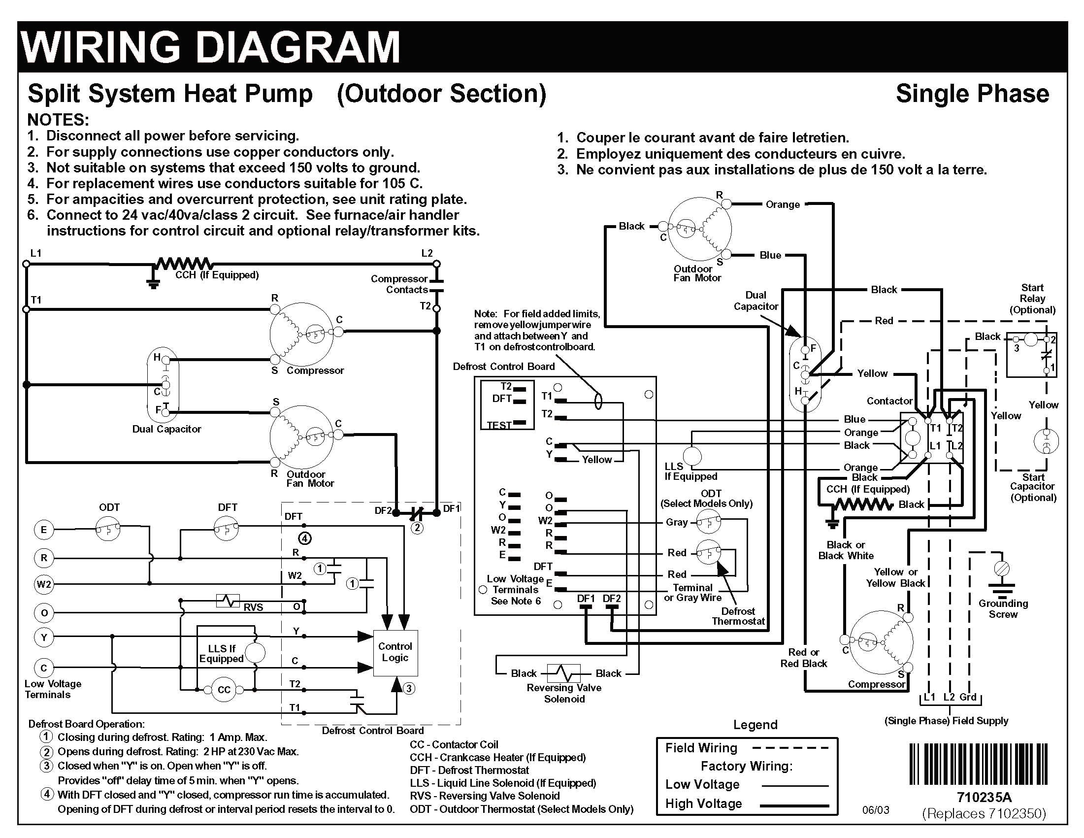 Find Out Here Carrier Heat Pump Low Voltage Wiring Diagram