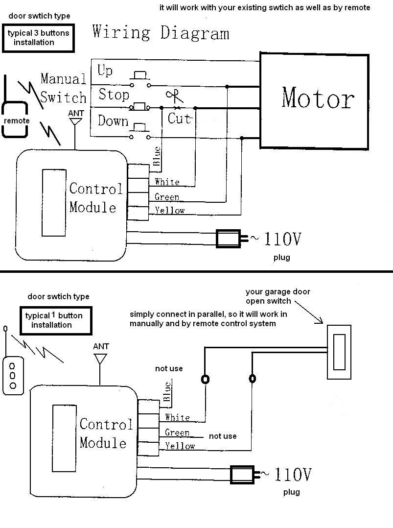 Gallery Of Chamberlain Garage Door Opener Sensor Wiring