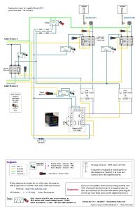 Cold Room Control Panel Wiring Diagram - 120v Dual Element Wiring Diagram Home Brew forums 19n