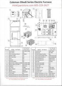 Coleman Electric Furnace Wiring Diagram - Intertherm Electric Furnace Wiring Diagram 14e