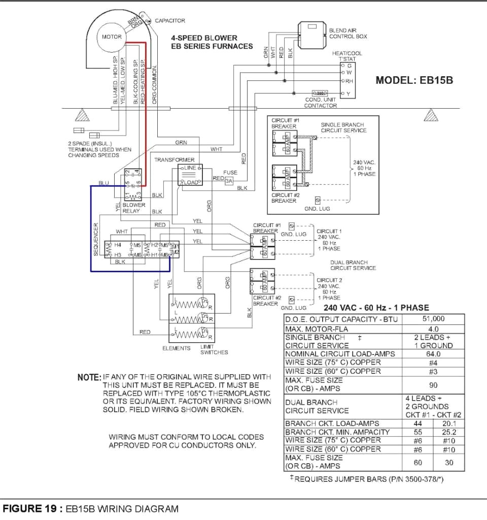 coleman electric furnace wiring diagram Collection-Intertherm Electric Furnace Wiring Diagram Coleman Colemaneb15b And Incredible For 20-p