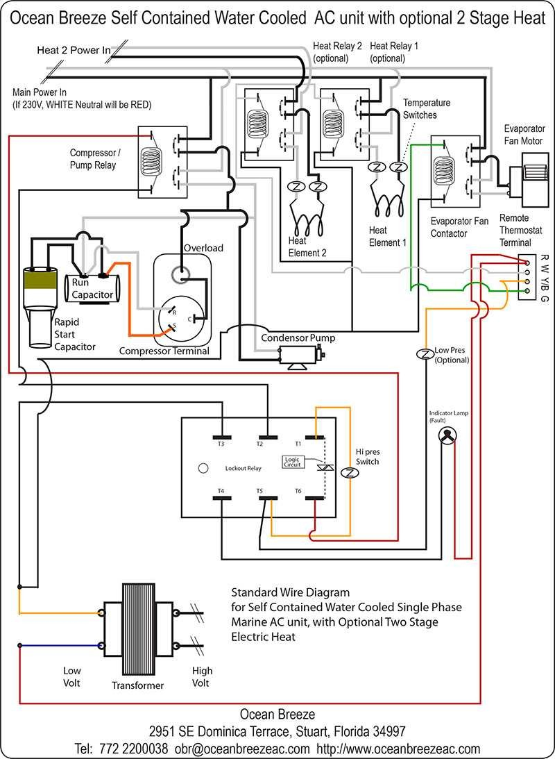 Get Coleman Mach Thermostat Wiring Diagram Sample