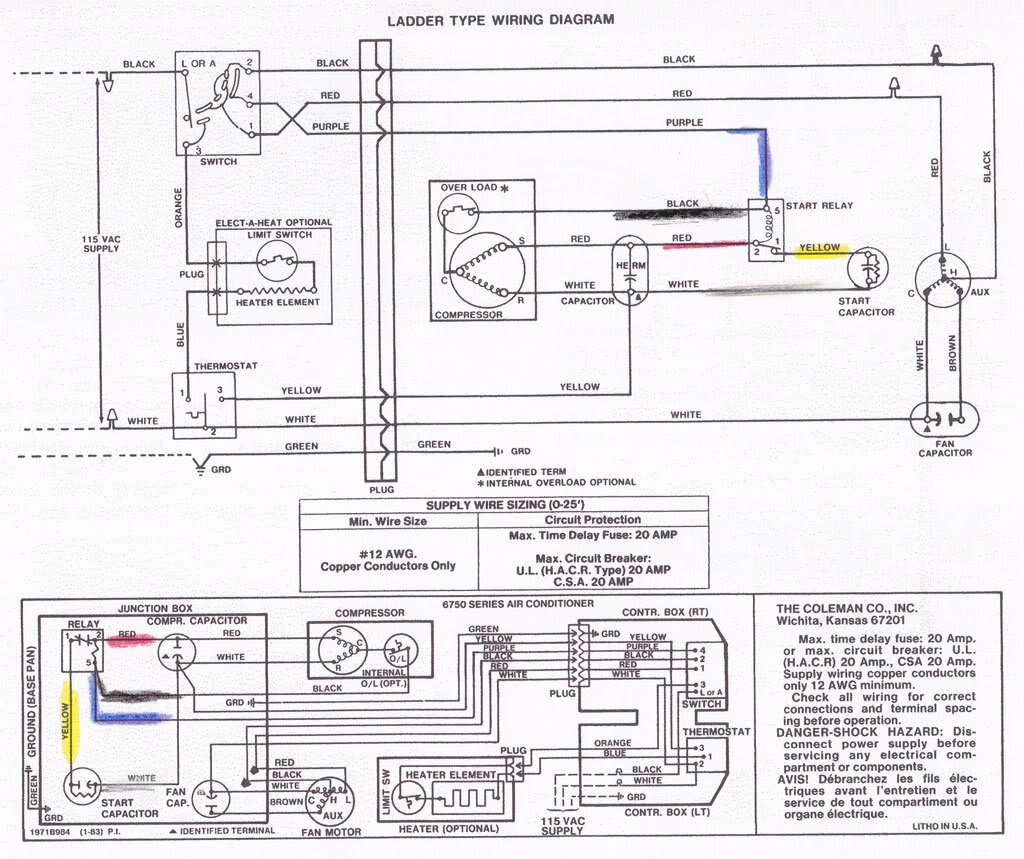 coleman rv air conditioner wiring diagram Download-Coleman Rv Air Conditioner Wiring Diagram Unique Excellent Coleman 2 Wire thermostat Ideas Electrical and Wiring 14-k
