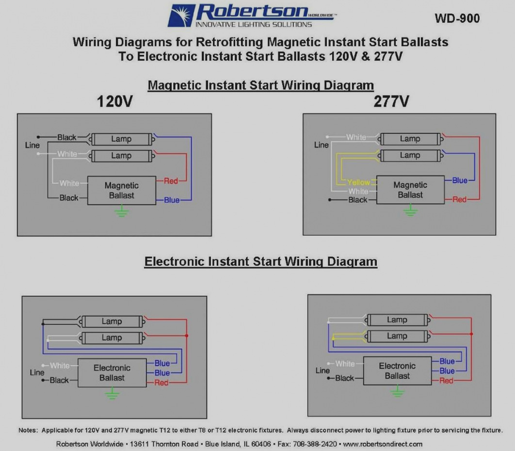 Convert T12 To T8 Wiring Diagram Sample