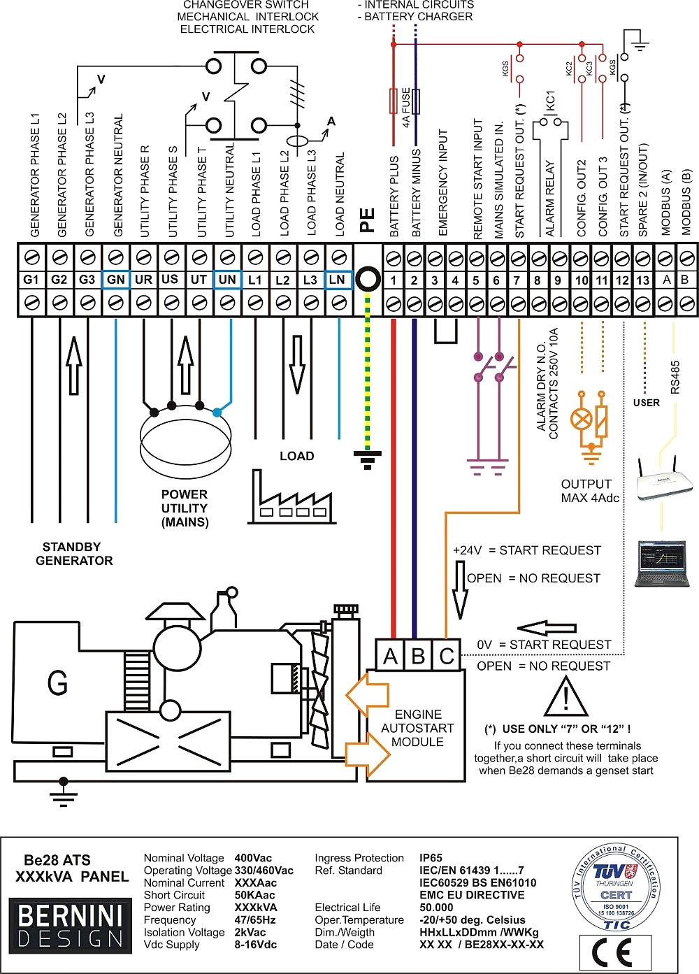 Rv Transfer Switch Wiring