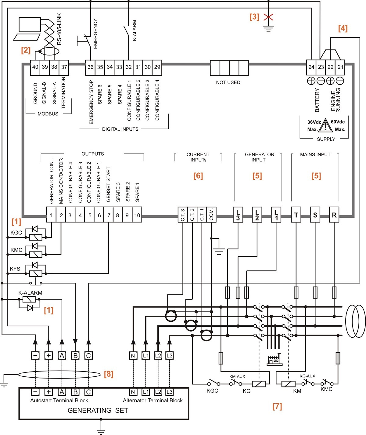 Generac Generator Auto Start Wiring Diagram Guide And Schematic Automatic Transfer Switch Diagrams Detailed Rh 7 6 Ocotillo Paysage Com 11kw Plug