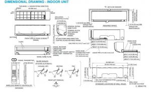 Daikin Mini Split Wiring Diagram - Amazon Daikin 18 000 Btu 220v 18 Seer Mini Split Inverter Air Conditioner Home & Kitchen 19s