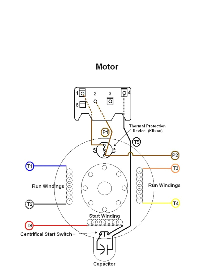 Dayton Psc Motor Wiring Diagram - Wiring Diagram Directory on