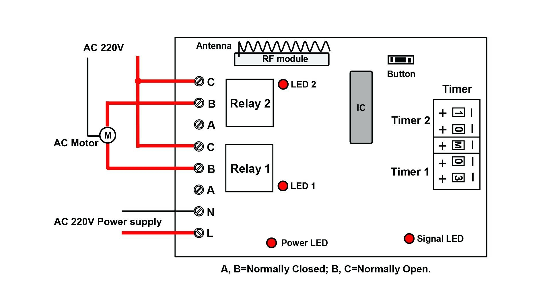dayton off delay timer wiring diagram Collection-off delay timer circuit diagram signal stat wiring diagram honda rh 66 42 83 38 Dayton 16-c